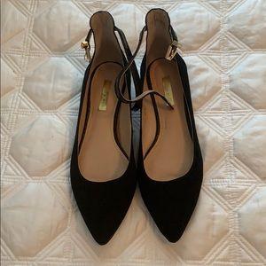 Louise Et Cie Black Ballet Flats